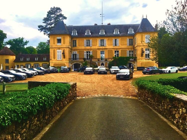 Le château de Vaugrigneuse accueille le Mercedes Dream Tour 2018