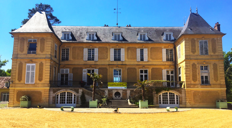 Le Château de Vaugrigneuse pendant le séminaire de l'enseigne naturéO