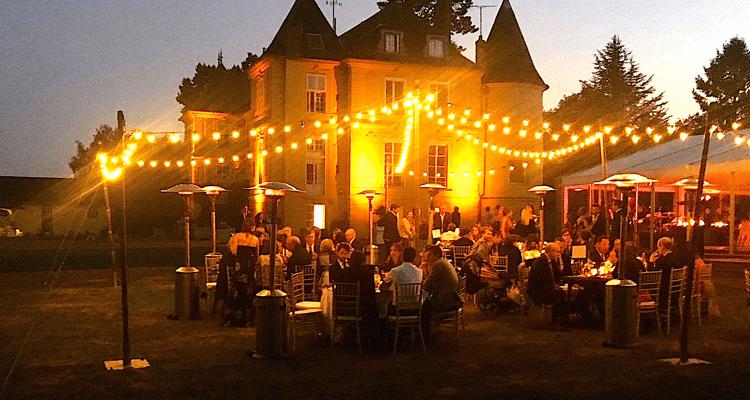 Soirée de réception avec Dîner champêtre au Château de Vaugrigneuse