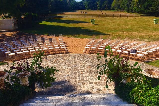 Château de Vaugrigneuse - Parc : salle de mariage, réception