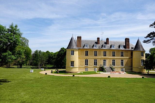 Château de Vaugrigneuse - vue arrière