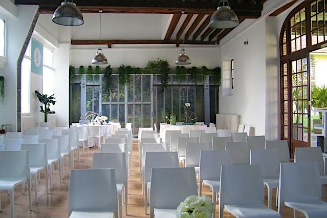 Château de Vaugrigneuse: l'Orangerie - location pour évènements, séminaires ou réceptions.
