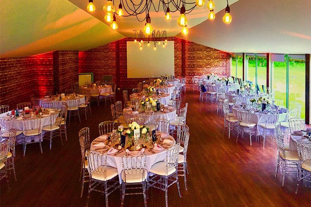 Château de Vaugrigneuse - Pavillon de l'étang : salle de mariage et banquet