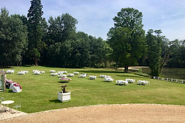 Château de Vaugrigneuse - Le Parc : garden-party, séminaire d'entreprise