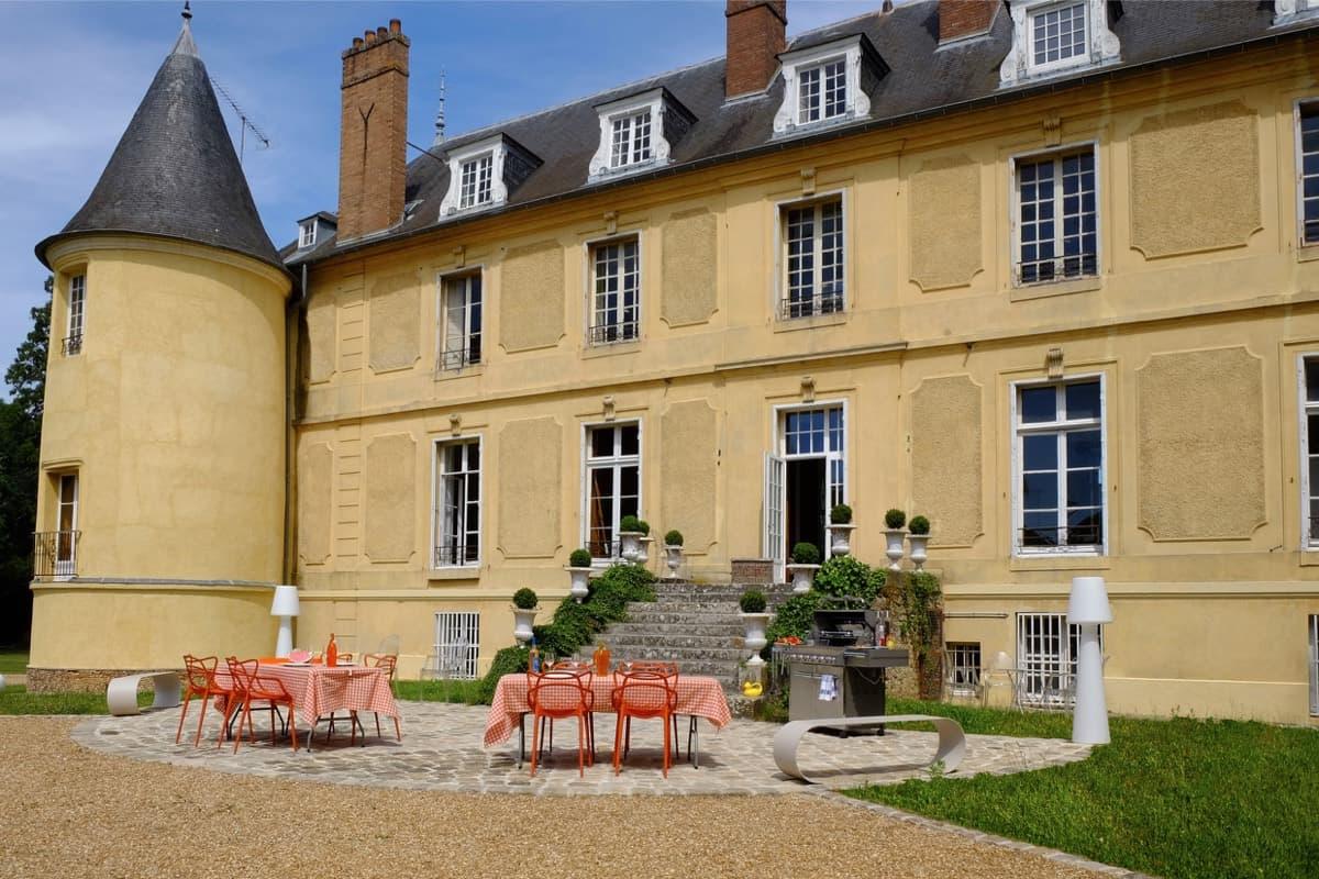 Château de Vaugrigneuse : Déjeuner séminaire formule barbecue - location pour évènements, séminaires ou réceptions.