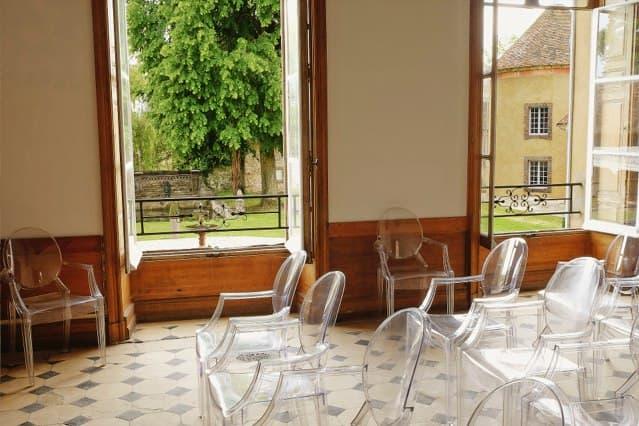 Château de Vaugrigneuse: la salle des gardes - location pour évènements, séminaires ou réceptions.