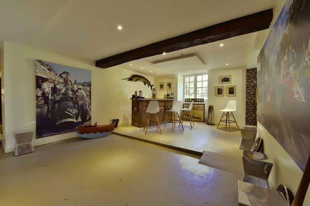 Château de Vaugrigneuse, l'espace réceptif Le gallery