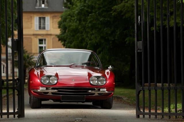 Lamborghini 400 GT au Château de Vaugrigneuse